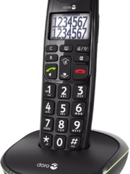 Doro PhoneEasy 110 Dect Black