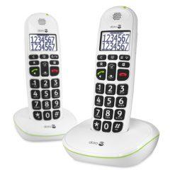 Doro PhoneEasy 110 Duo Dect White