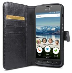 Doro 8040 Wallet Case Black