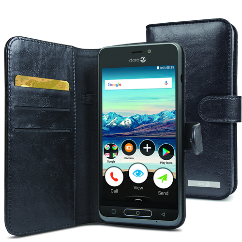 wholesale dealer 46880 f33b5 Doro 8035 Wallet Case